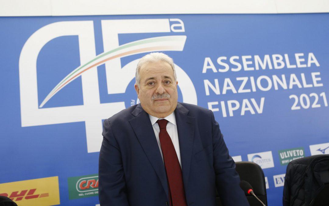 Giuseppe Manfredi è il nuovo presidente della Fipav