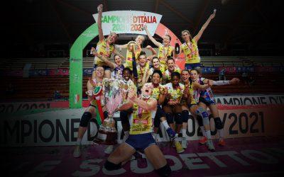 Conegliano campionesse d'Italia